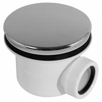 ALCAPLAST Сифон для душевого поддона хромированный, 90 см A49CR