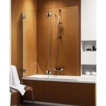 RADAWAY Carena PND L - Шторка для ванной, левая, стекло коричневое, 130х150 см 202201-108L