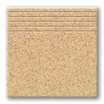 TUBADZIN Tartan 12 - Ступень керамогранитная, желтая, 33,3x33,3 см  5907602125740