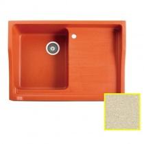MARMORIN Rubid - Гранитная кухонная мойка, цвет сафари, 890x615x270 мм 230114001
