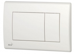 ALCAPLAST Кнопка слива, белая M270