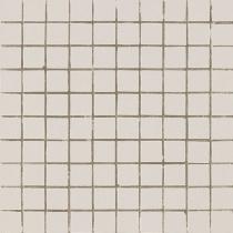 AVA LA FABBRICA Lyra Mosaico Sahara Dark Satinato - Мозаика керамическая настенная, бежевая, 25х25 мм 070039