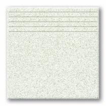 TUBADZIN Tartan 3 - Ступень керамогранитная, белая, 33,3x33,3 см  5907602125788