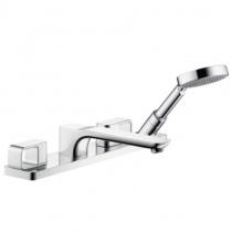 AXOR Urquiola - Смеситель для ванны, на 4 отверстия, монтаж на плитку, хром 11445000