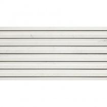 ATLAS CONCORDE Style Bianco Venato Mosaico Linea - Керамогранитная плитка универсальная, наружная, белая, 30х60 см AD00