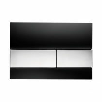 Клавиша смыва Black glass - хром глянцевый TECE TECEsquare 9240807