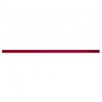 CERAMIKA KONSKIE Amsterdam L 901 Listwa - Фриз керамический настенный, красный, 1,5x50 см 5905957072917