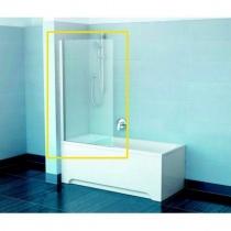 RAVAK PVS1 - Шторка для ванны, профиль белый, 80 см 79840100Z1-A