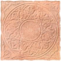 CERROL Cortona Beige Decor - Керамогранитная плитка напольная, наружная, бежевая, 33,3х33,3 см 511416