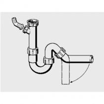 VIEGA Трубный сифон для мойки и кухонной раковины 101800