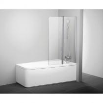RAVAK Шторка для ванны двухэлементная 10CVS2-100 см R, satin+Transparentt 7QRA0U03Z1