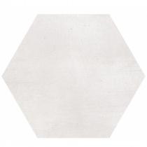 GEOTILES Starkhex Nacar - Керамогранитная плитка универсальная, белая, 25,8х29 см  360385