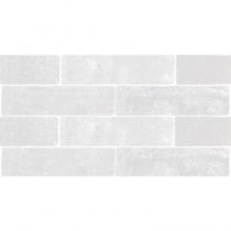MONOPOLE Jerica Blanco - Керамогранитная плитка универсальная, белая, 7,5x28 см 520253