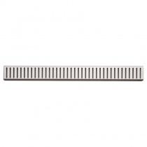 ALCAPLAST PURE-650 - Водоотводящая перфорированная решетка PURE-650
