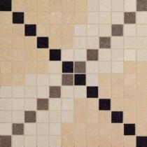 VIVES Arquinia Mosaico Deir Sand - Мозаика керамогранитная универсальная, бежевая, 30x30 см ARMDS300