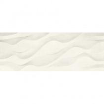 NAXOS CERAMICHE Surface Elix Talc 93366 - Керамическая плитка настенная, белая, 31,2x79,7 см 523386