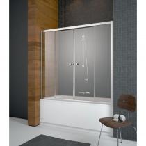 RADAWAY Vesta DWD - Шторка для ванны 140 см, хром/фабрик 203140-06
