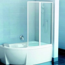 RAVAK VSK2 Rosa R 150 - Шторка для ванны, правая, 150 см VSK2-Rosa150-R
