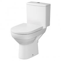 Унитаз CERSANIT CITY CLEAN ON 011 с бачком 3/5 и сиденьем дюропласт Soft Close легкосъемное