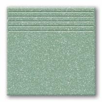 TUBADZIN Tartan 2 - Ступень керамогранитная, зеленая, 33,3x33,3 см  5907602125764