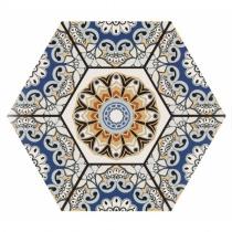 REALONDA Sevres Azul - Керамогранитная плитка универсальная, синяя, 28,5x33 см 347327