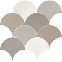 VIVES Massena Antislip Mosaico Multicolor Antideslizante - Мозаика керамогранитная универсальная, 30x30 см MAMMA300