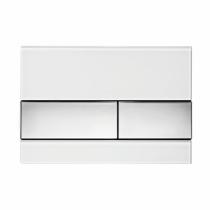 Клавиша смыва White glass - хром глянцевый TECE TECEsquare 9240802