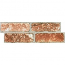 MONOPOLE Castillo Teruel - Керамогранитная плитка универсальная, наружная, коричневая, 147x442 мм 239422
