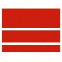 DOMINO Concept Red Gloss CC80R - Керамическая плитка настенная, красная, (20)(12,4)(7,4)х60 см 524036