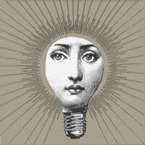 CERAMICA BARDELLI Tema E Variazione 2 Bianco Extra 17 - Декор керамический настенный, 10х10 см TV0021017