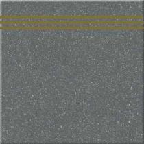 ZEUS CERAMICA Techno Basalto ZVX19B - Ступень керамогранитная, чёрная, 30x30 см 58777