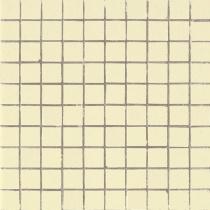 AVA LA FABBRICA Lyra Mosaico Lime Satinato - Мозаика керамическая настенная, бежевая, 25х25 мм 070029