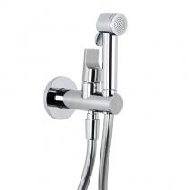 Гигиенический душ со смесителем в одном комплекте скрытого монтажа Fima Carlo Frattini F2310NCR (f2310/1NCR+f2645)