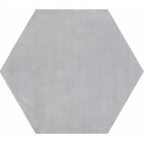 GEOTILES Starkhex Gris - Керамогранитная плитка универсальная, серая, 25,8х29 см  360383