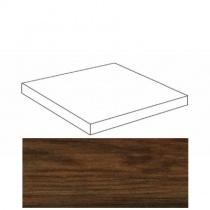 ATLAS CONCORDE Etic Palissandro Scalino Angolare DX - Ступень керамогранитная, коричневая, 22,5x22,5 см ANAJ
