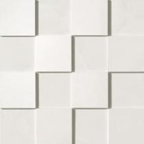 ATLAS CONCORDE Marvel ASLD Moon Mosaico 3d - Мозаика керамогранитная универсальная, белая, 30х30 см 510054