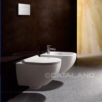 CATALANO SFERA - Унитаз подвесной, цвет Bianco + крепление 1VSF54A00+5KFST00