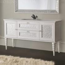 MOBILI DI CASTELLO Eros - Напольный шкаф с умывальником, белый 9201-LL001
