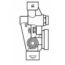 ZUCCHETTI Pan - Скрытая часть смесителя для ванны R99684
