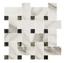 APAVISA MARBLE calacatta polished mosaico mix 29,75x29,75