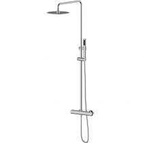 CENTRUM T-15410 система душевая  (смеситель-термостат для душа, верхний и ручной душ 1режим, шланг)