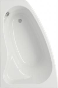 Ванна акриловая Cersanit Sicilia 150x100 левая с ножками
